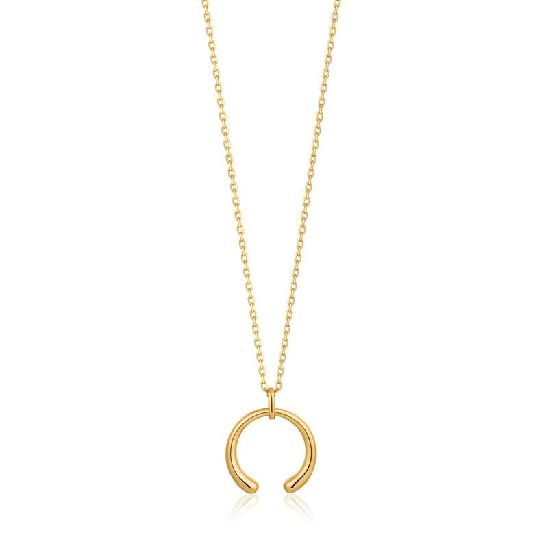 Ania Haie Luxe Curve Necklace  N024-03G