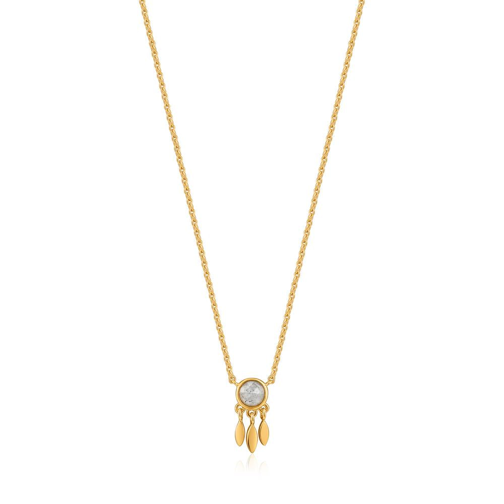 Ania Haie Midnight Fringe Gold Necklace N026-01G