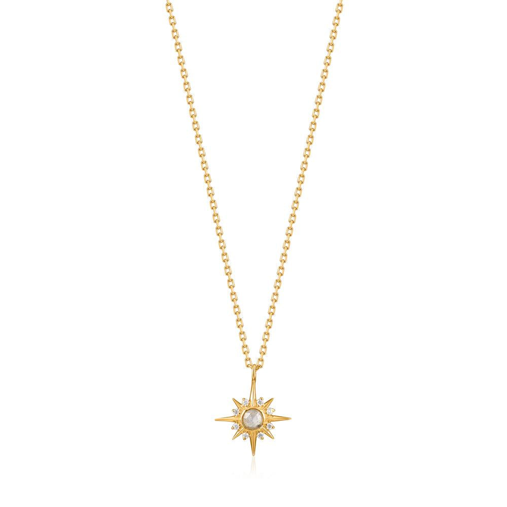 Ania Haie Midnight Star Gold Necklace N026-02G