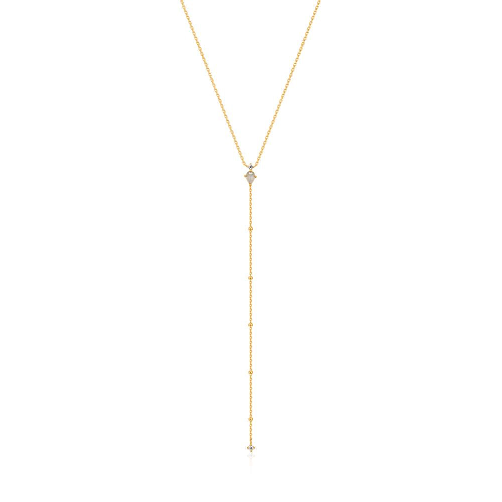 Ania Haie Midnight Y Gold Necklace N026-04G