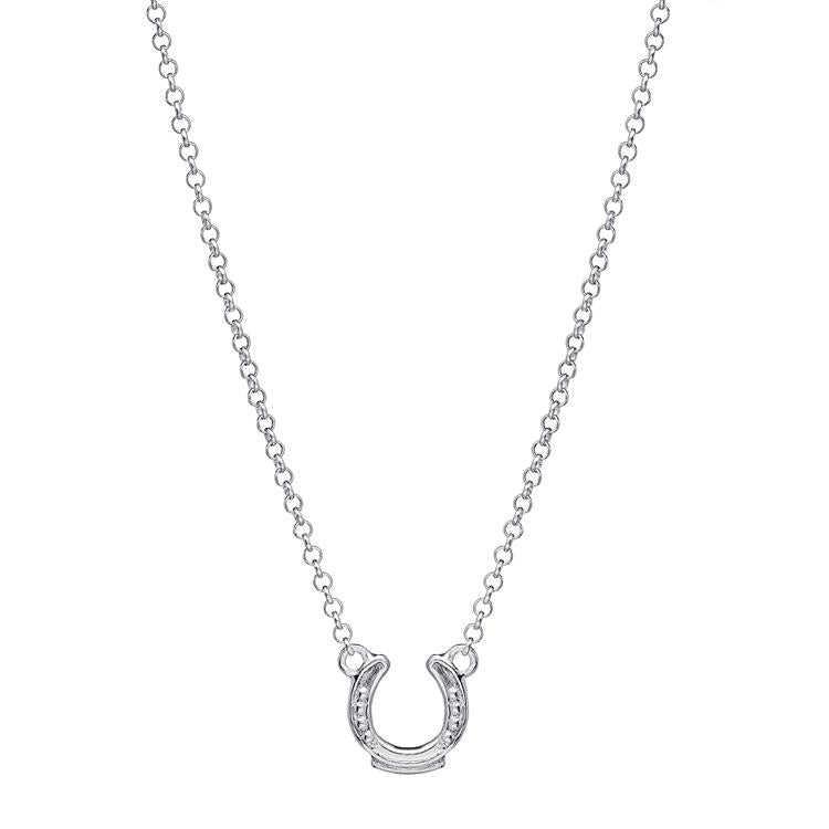 Annie Haak Lucky Horseshoe Silver Necklace