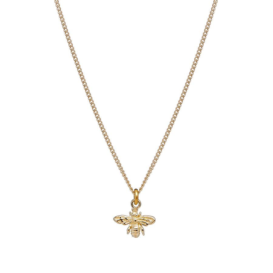 Annie Haak Tiny Bee Gold Necklace