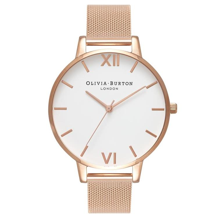 Olivia Burton Big Dial Rose Gold Watch OB15BD79