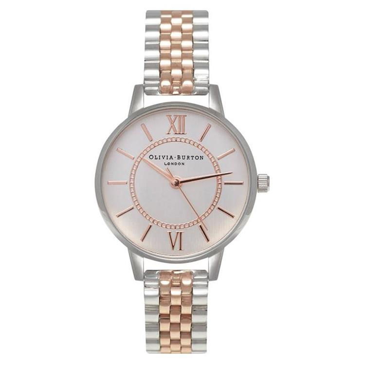 Olivia Burton Wonderland Steel Watch OB15WD40
