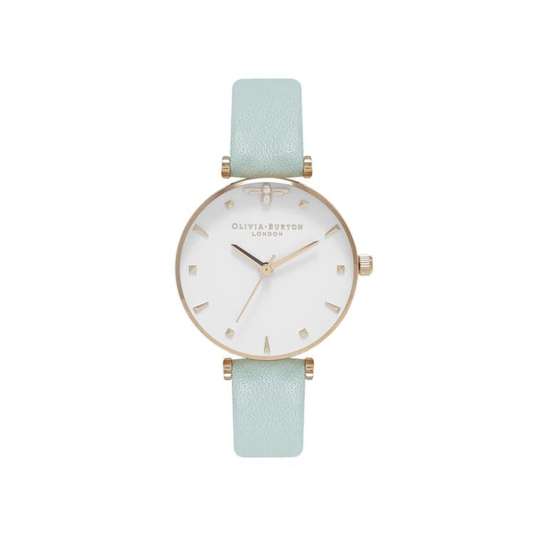 Olivia Burton Queen Bee Watch Mint Strap OB16AM143