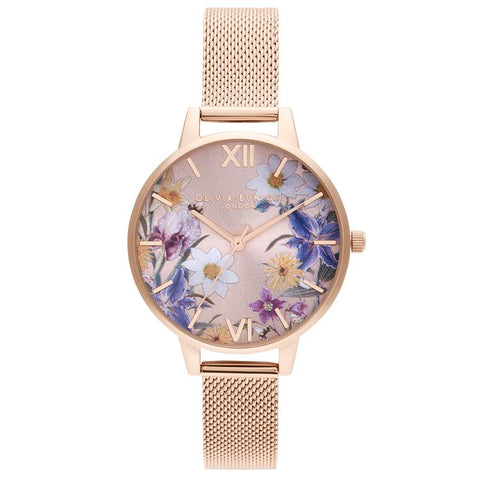 Olivia Burton Best In Show Floral Watch OB16EG141