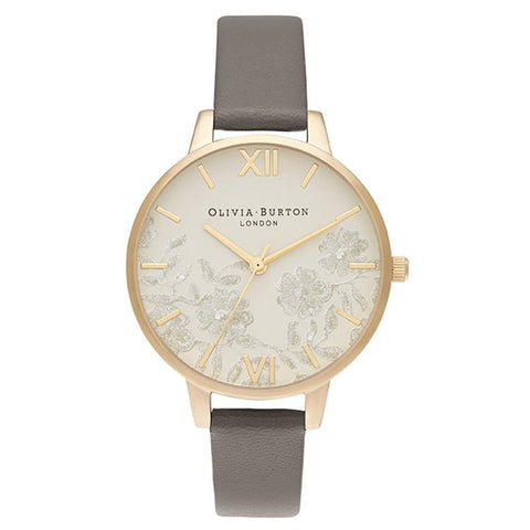 Olivia Burton Vegan Grey Gold Watch OB16MV98