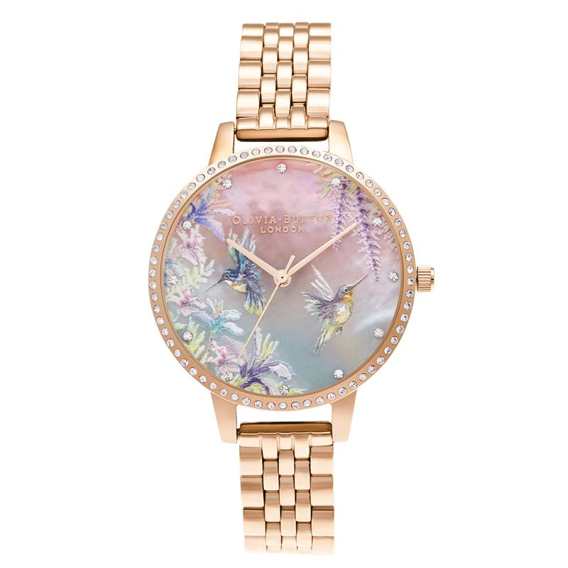 Olivia Burton Sparkle Hummingbird Watch OB16PP60