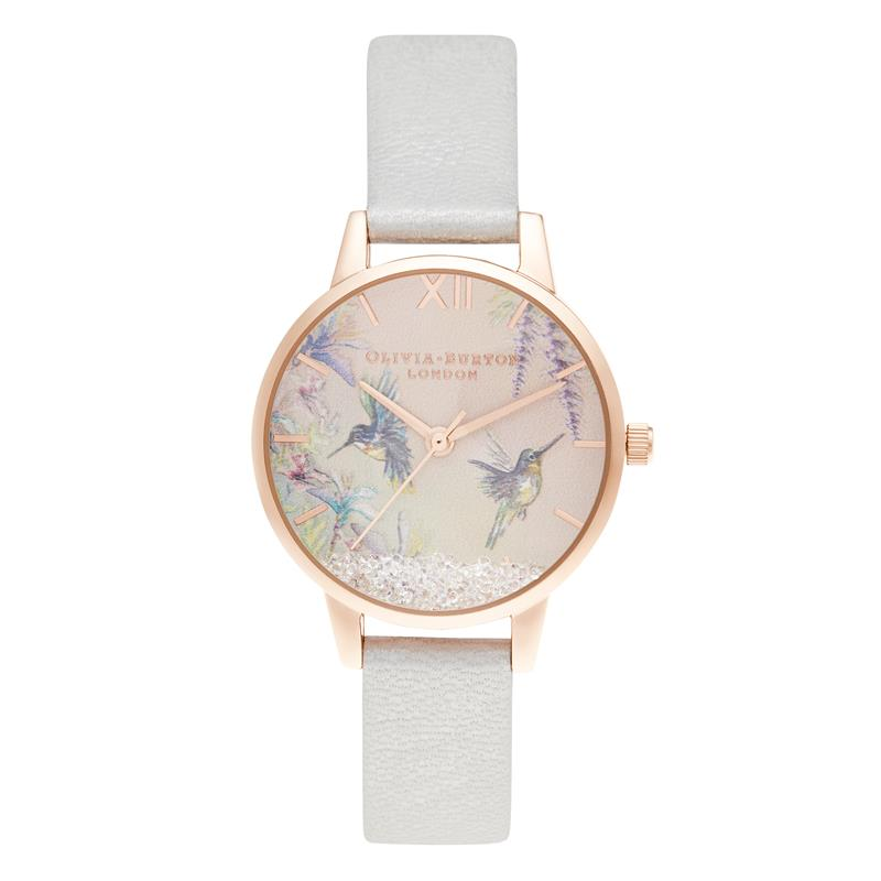 Olivia Burton Hummingbird Rose Gold Watch OB16PP61