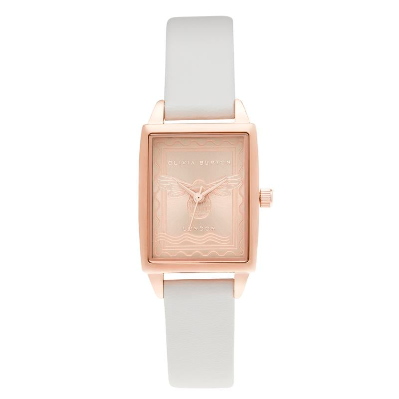 Olivia Burton London Stamp Bee Vegan Watch OB16SD04