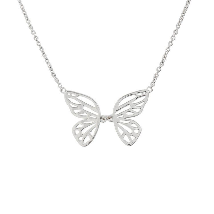 Olivia Burton Butterfly Wing Necklace OBJ16EBN06
