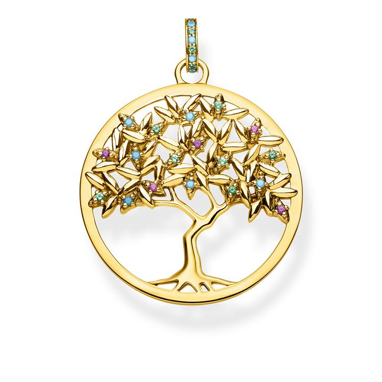 Thomas Sabo Tree Of Love Pendant Pe826-973-7