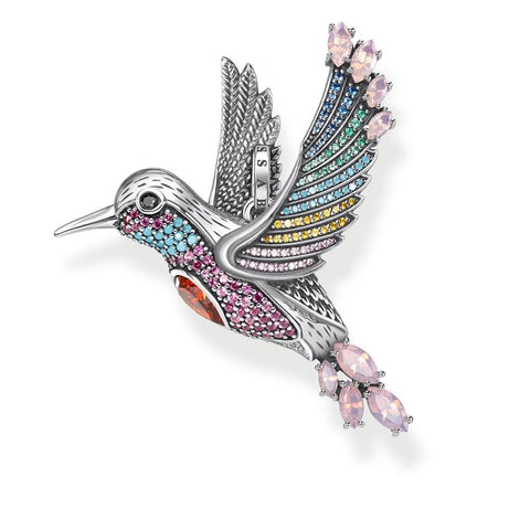 Thomas Sabo Colourful Hummingbird Pendant PE875-342-7