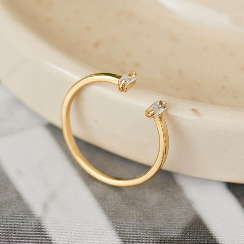 Ania Haie Glow Adjustable Gold Ring R018-04G