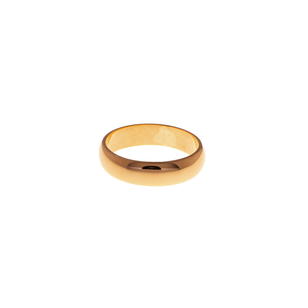 Pre-Owned 5mm 22ct Gold Wedding Band