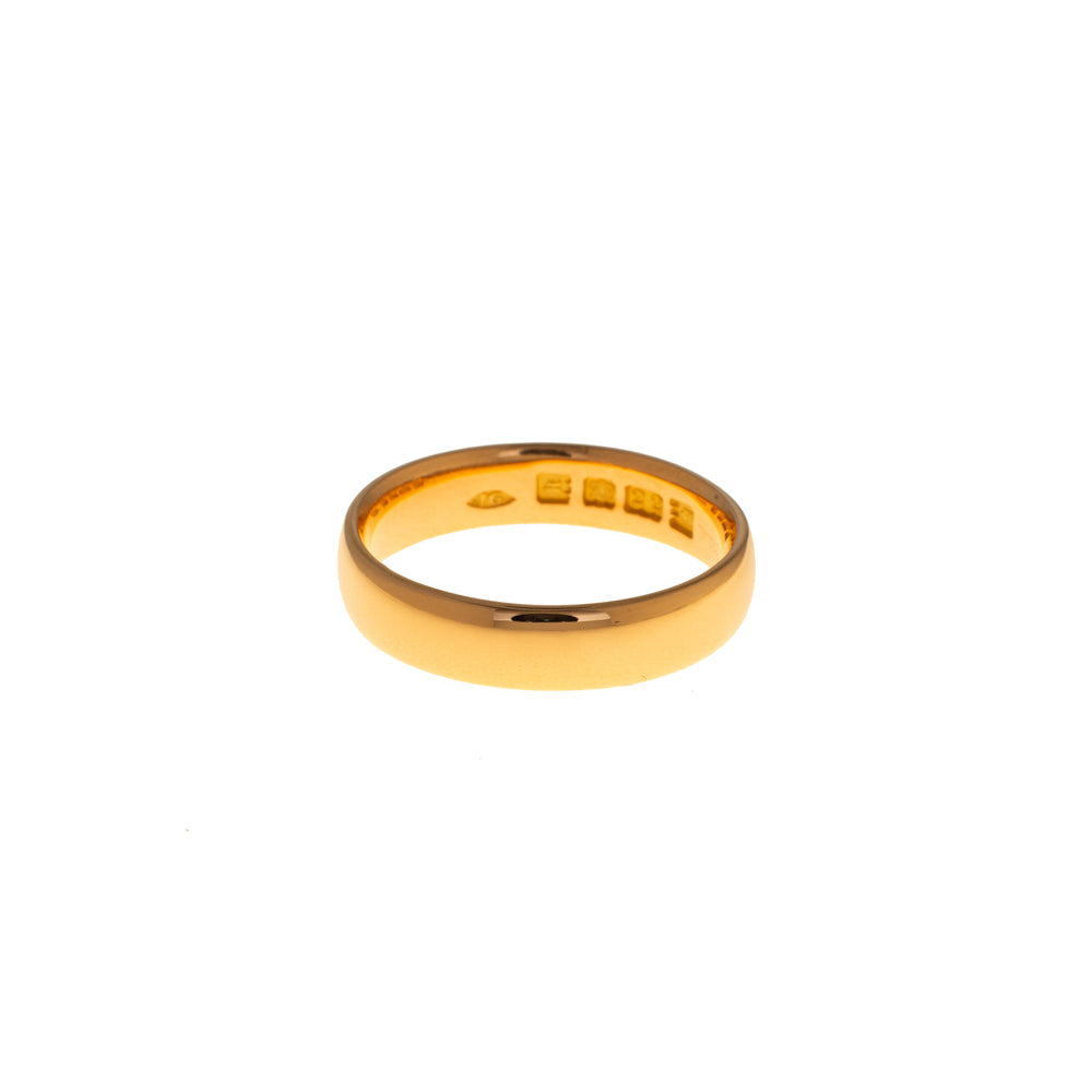 Pre-Owned 22ct Gold 5mm Polished Wedding Band