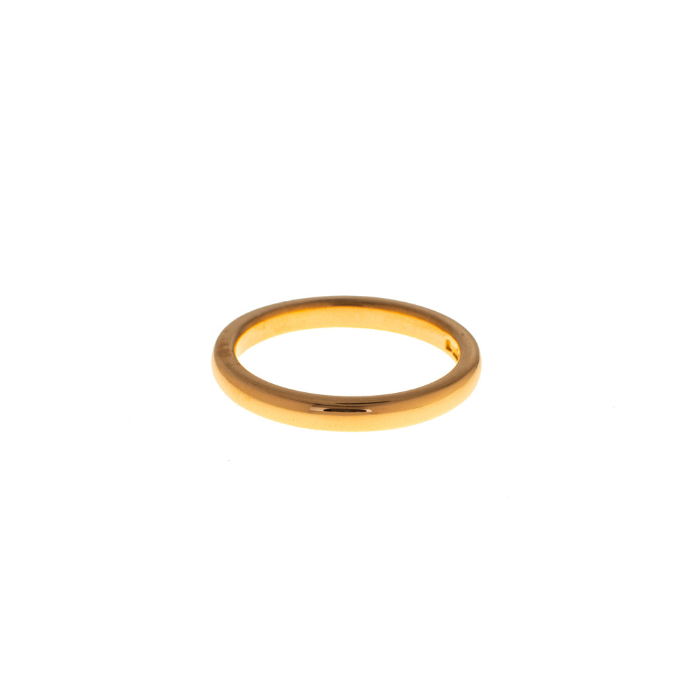 Pre-Owned 22ct Gold 3mm Polished Wedding Band