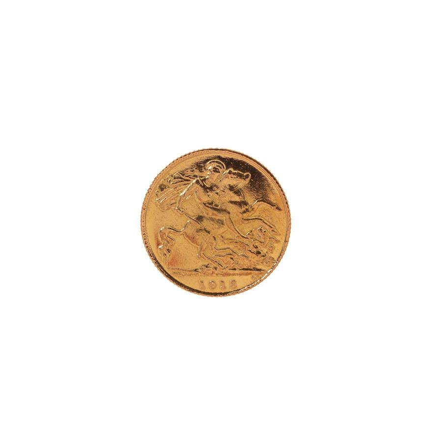 Pre-Owned 1915 Half Sovereign Coin