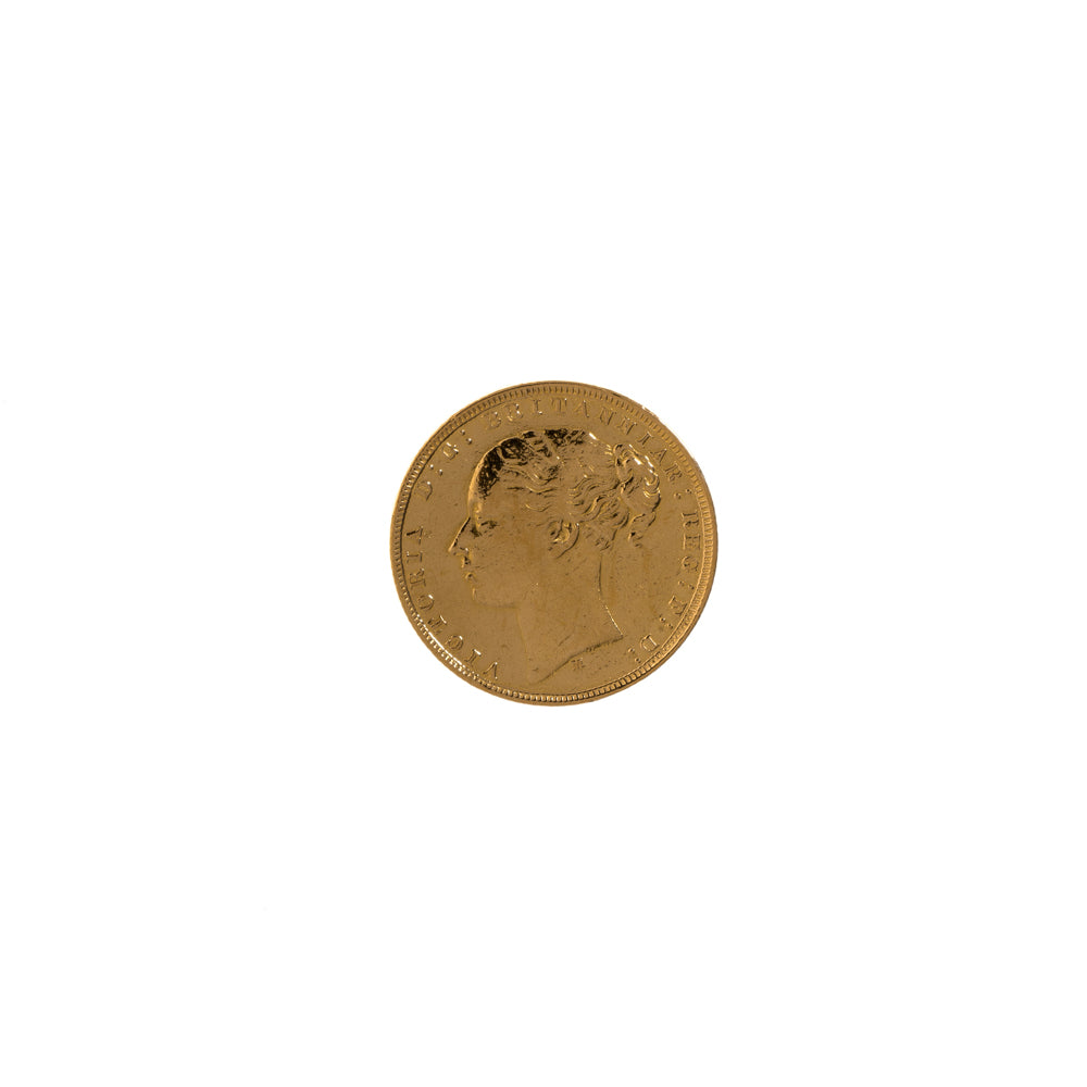 Pre-Owned 1879 Full Sovereign Coin