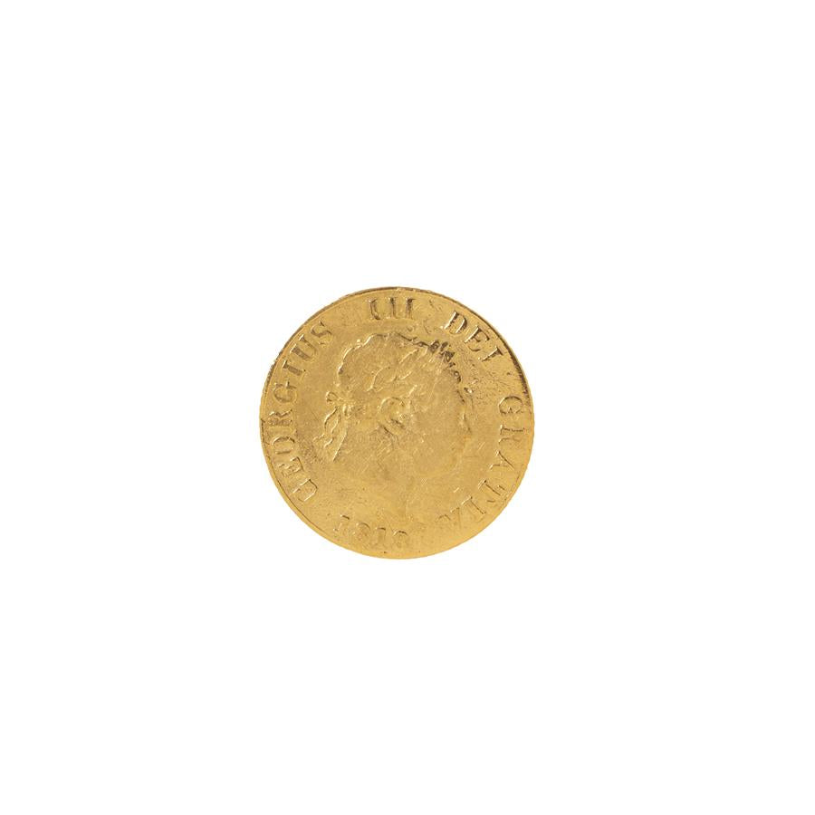 Pre-Owned 1818 Half Sovereign Coin