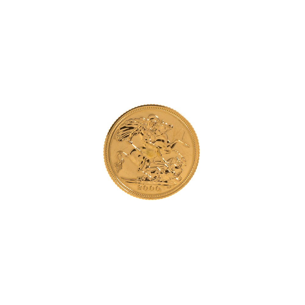 Pre-Owned 2000 Half Sovereign Coin