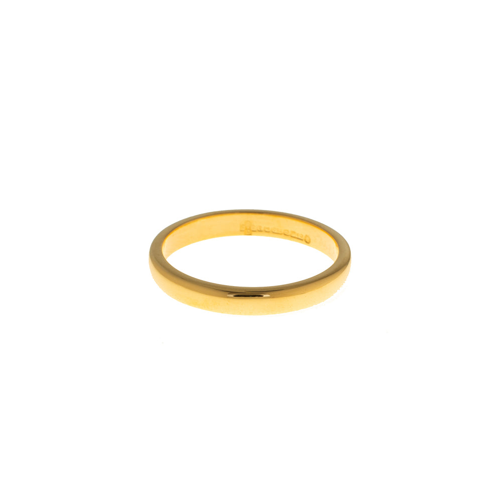 Pre-Owned 18ct Gold 3mm Wedding Band