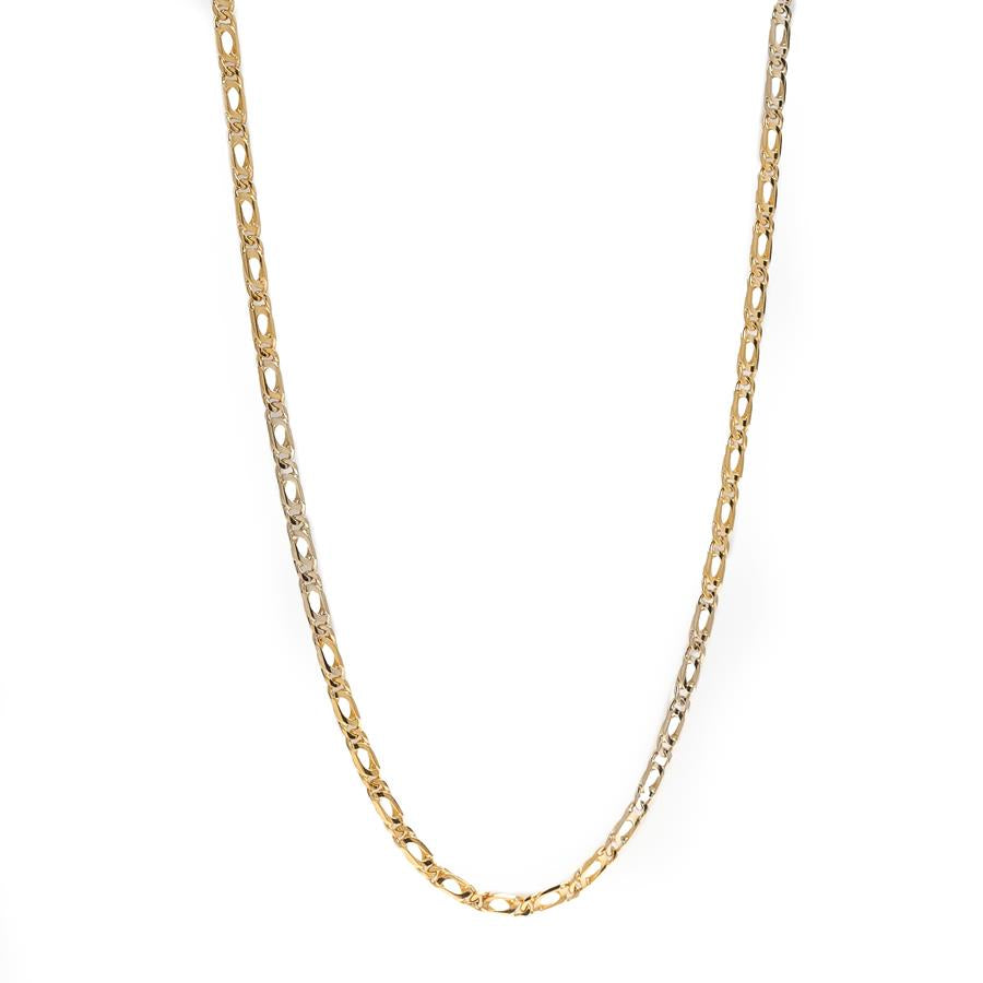 "Pre-Owned 18ct Gold 25"" Anchor Link Necklace"