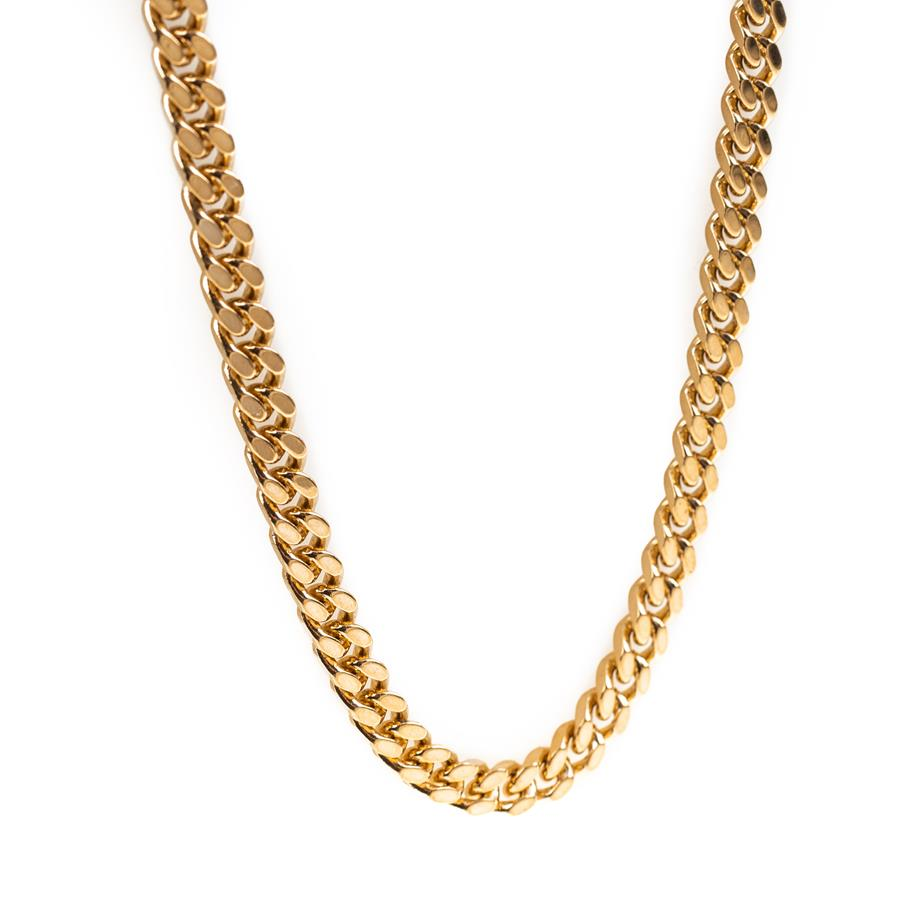 "Pre-Owned 18ct Gold 26"" Curb Necklace"