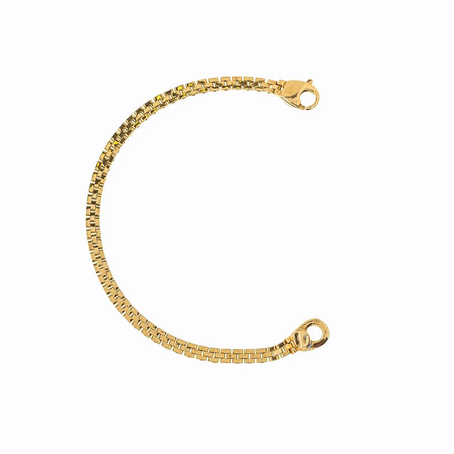 Pre-Owned 18ct Gold Childs Watch Link Bracelet