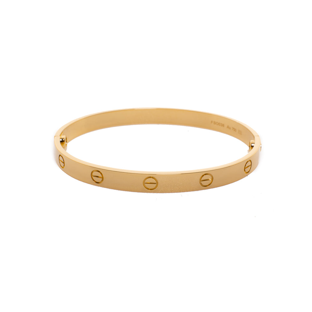 Pre-Owned 18ct Gold Cartier Love Bracelet