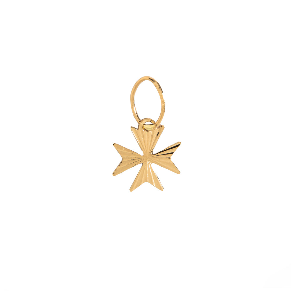 Pre-Owned 18ct Gold Maltese Cross