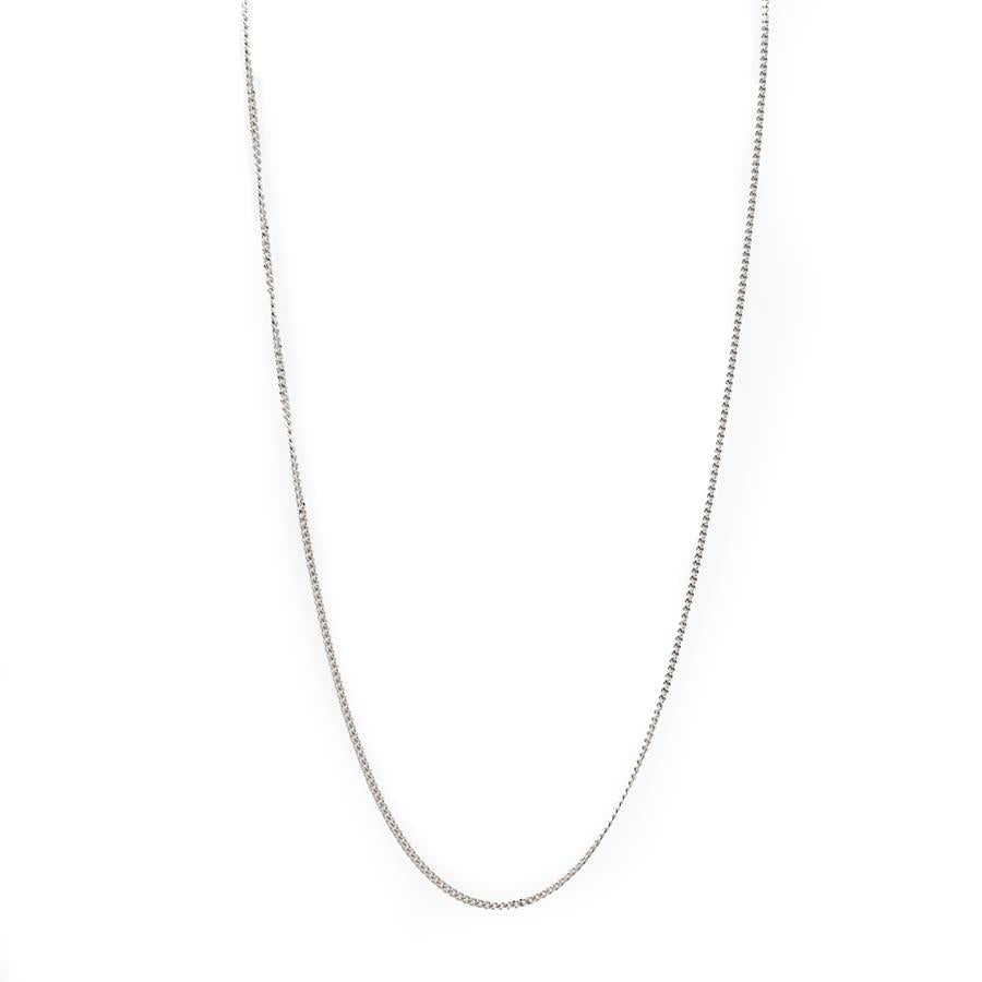 "Pre-Owned 9ct Gold 20"" Fine Curb Necklace"