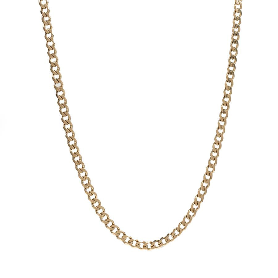 "Pre-Owned 9ct Gold 20"" Curb Necklace"