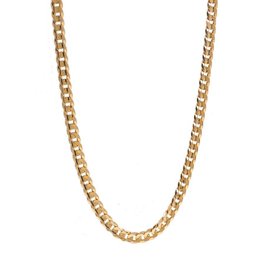 "Pre-Owned 9ct Gold 24"" Curb Necklace"