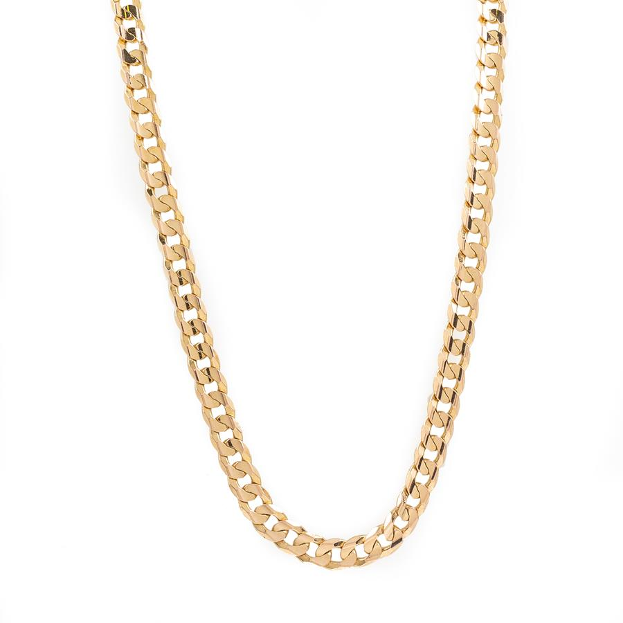"Pre-Owned 9ct Gold 16"" Curb Necklace"