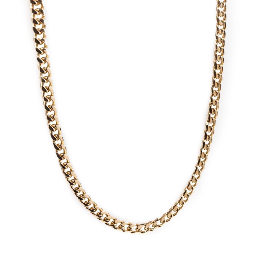 "Pre-Owned 9ct Gold 18"" Curb Chain Necklace"