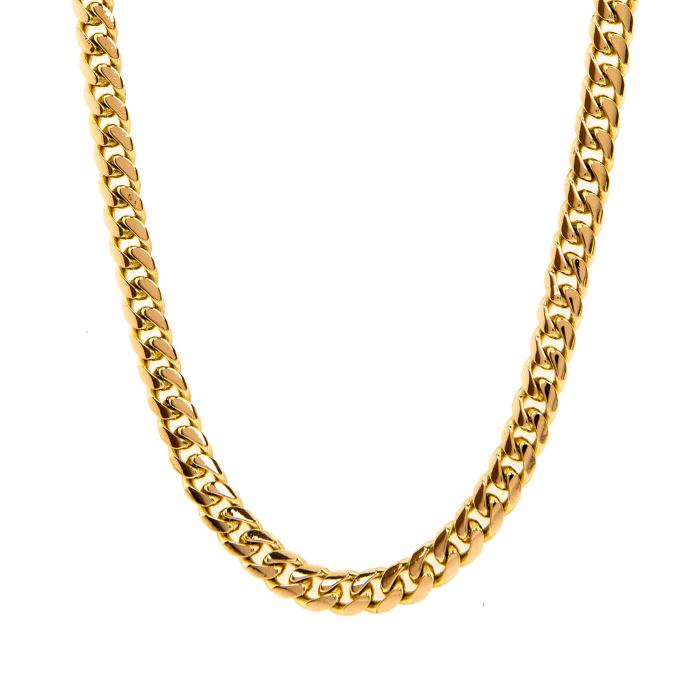 "Pre-Owned Gold 26"" Flat Round 5mm Curb Necklace"
