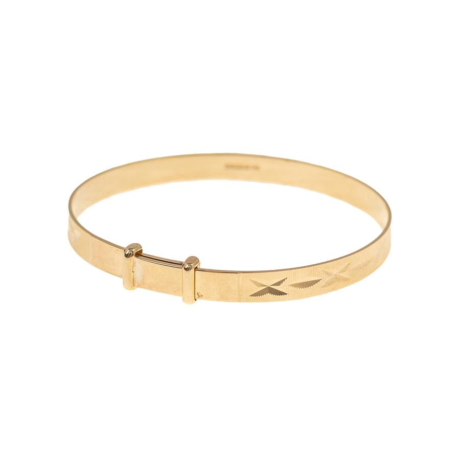 Pre-Owned 9ct Gold Baby Bangle