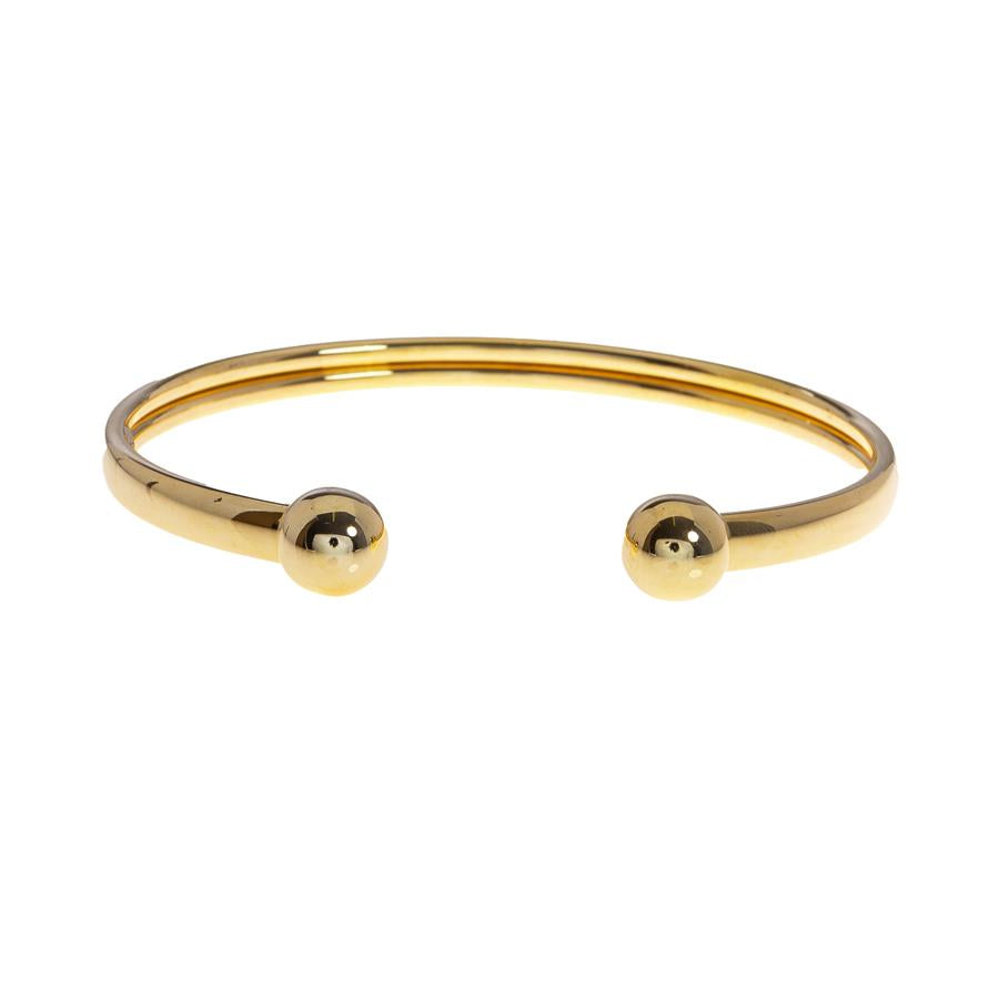 Pre-owned Hollow Ladies Torque Bangle