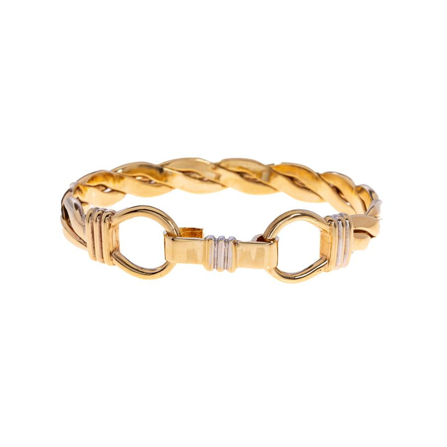 Pre-Owned Double Noose Female Twist Bangle