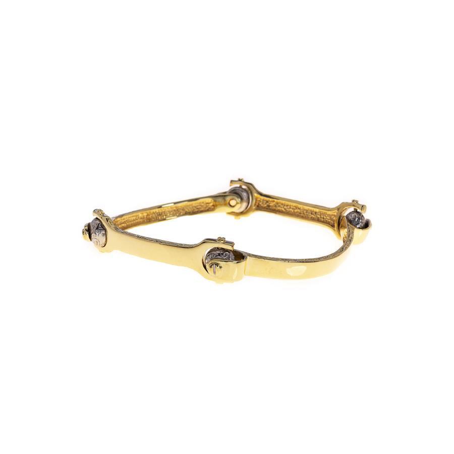 Pre-owned Spanner Style Screw Closure Bangle