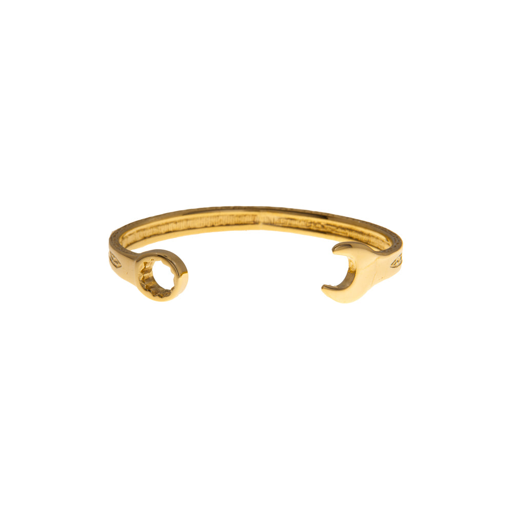 Pre-Owned 9ct Gold Gents Spanner Bangle