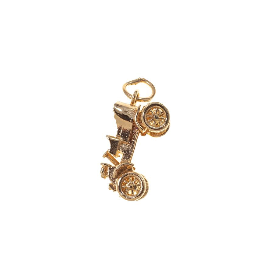 Pre-Owned 9ct Gold Austin 7 Chummy Car Charm
