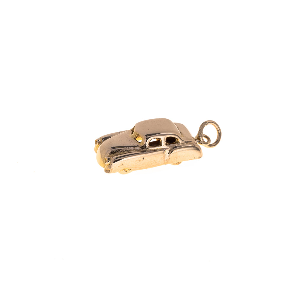 Pre-Owned 9ct Gold Unisex Vintage Car Charm