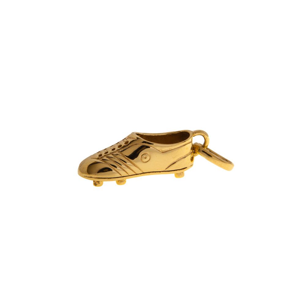 Pre-Owned 9ct Gold Football Boot Charm
