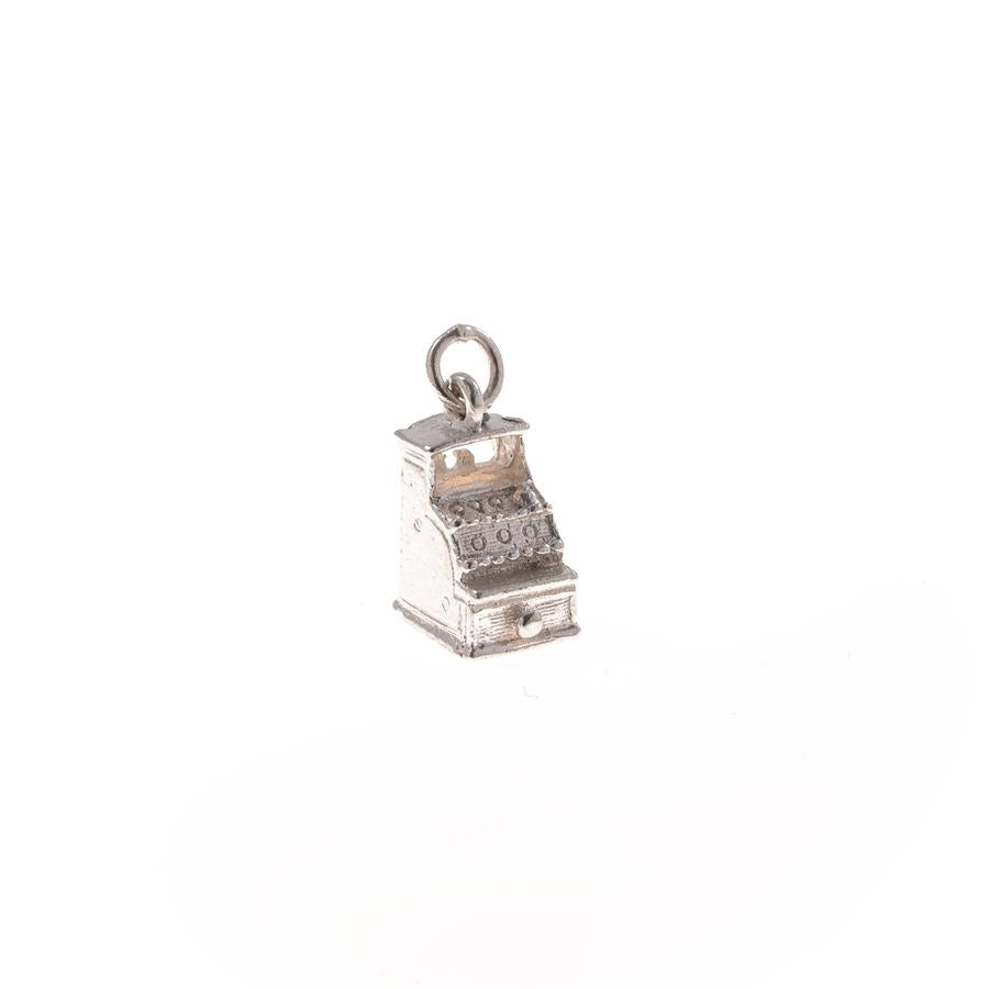 Pre-Owned Silver Old Shop Till Charm