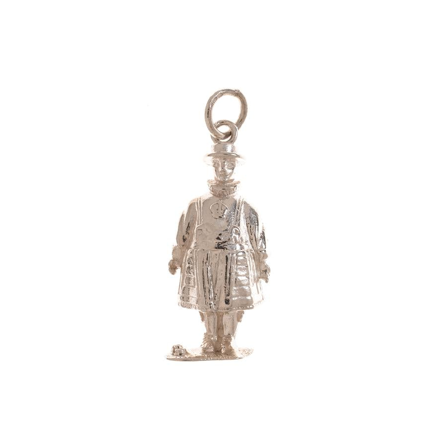 Pre-Owned Silver Yeoman Warder Charm