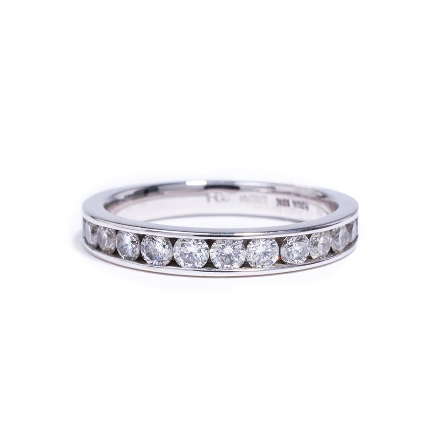 Pre-Owned White Gold Eternity Diamond Ring
