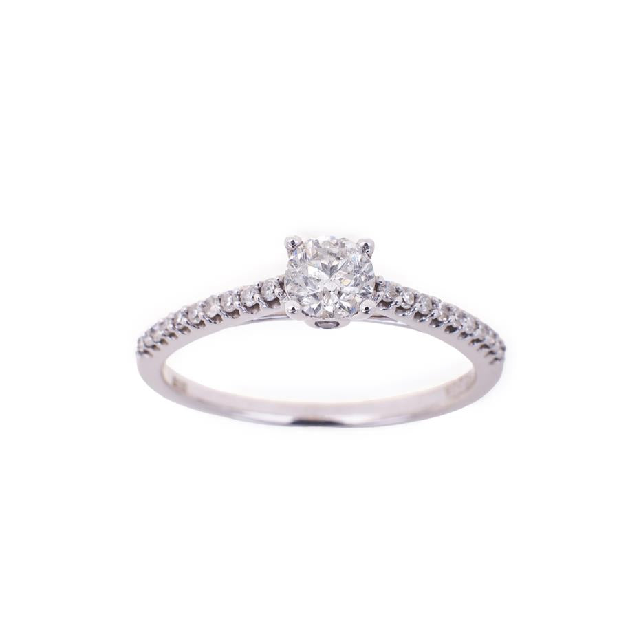 Pre-Owned 18ct White Gold Diamond Ring
