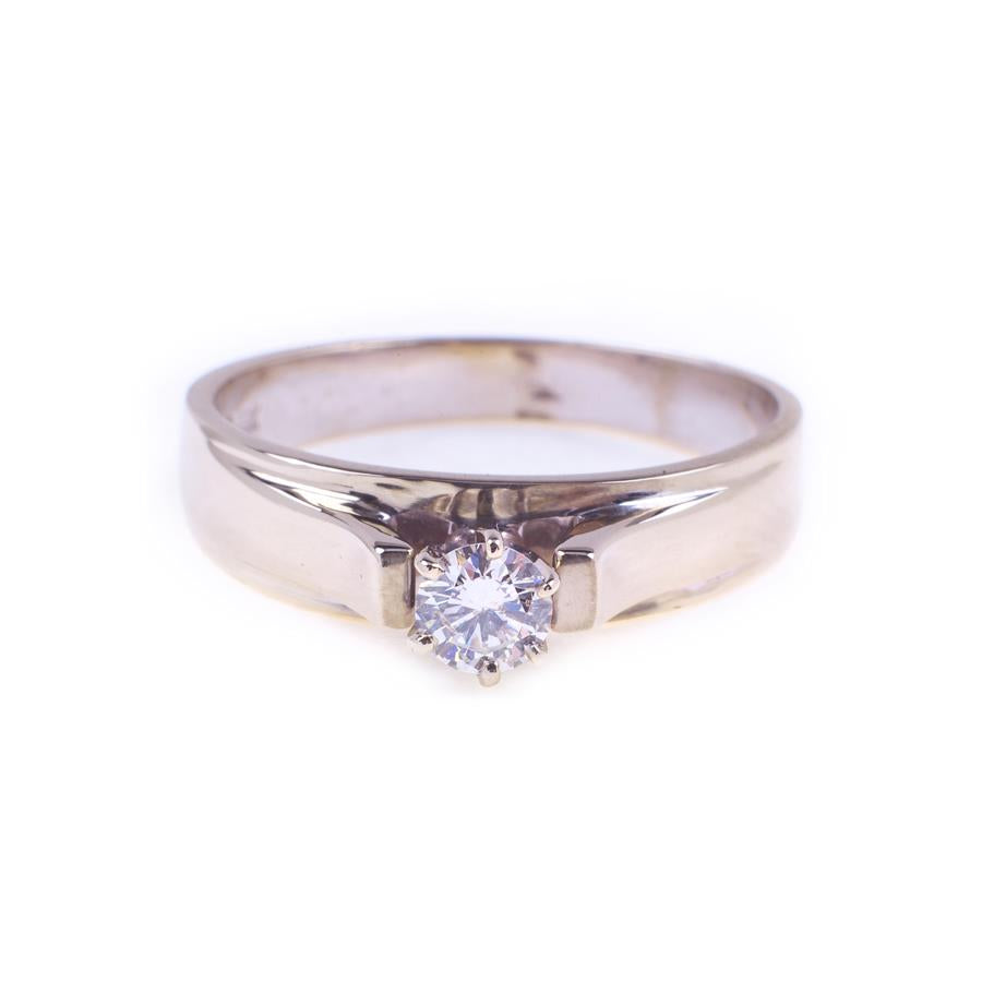 Pre-Owned 18ct White Gold Illusion Set Diamond Ring